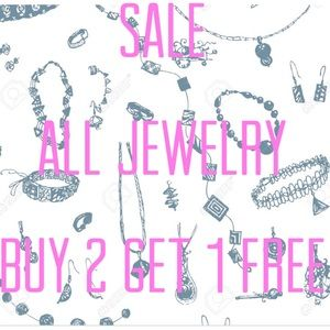 SALE - All Jewelry Buy 2 Get 1 Free!